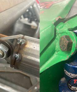 mocowanie amortyzator klatka